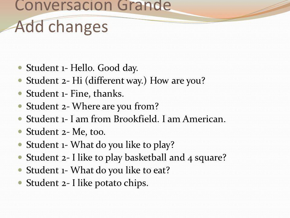 Learning Goal: Talk about your daily routine in Spanish  - ppt download