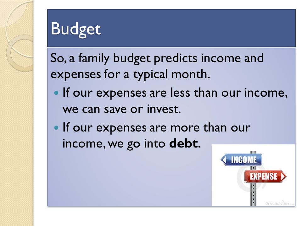 budget unit dollars and sense budget a budget is a financial plan