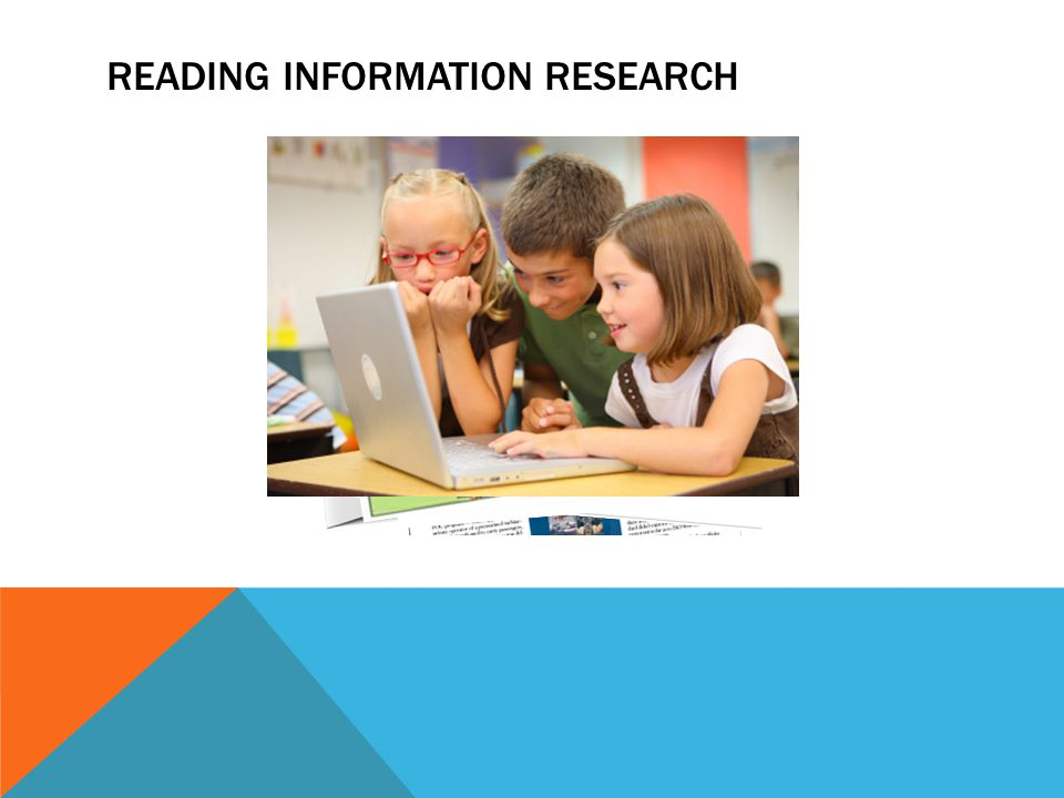 READING INFORMATION RESEARCH