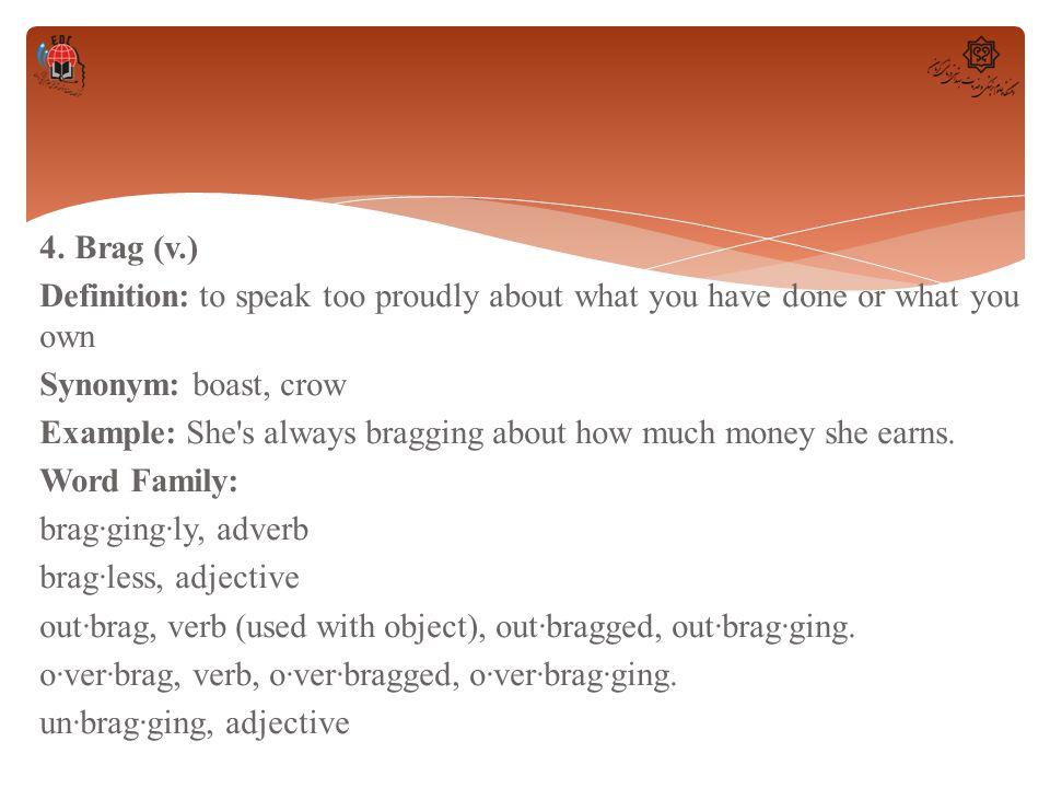 Wordlist 19 I Love Me   1  Admiration (n ) Definition: the