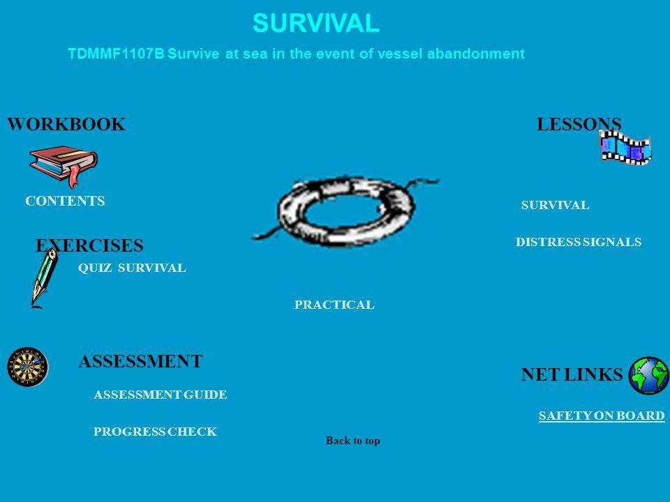 MARITIME OPERATIONS ASSESSMENTS WORKBOOKS INTERNET LINKS