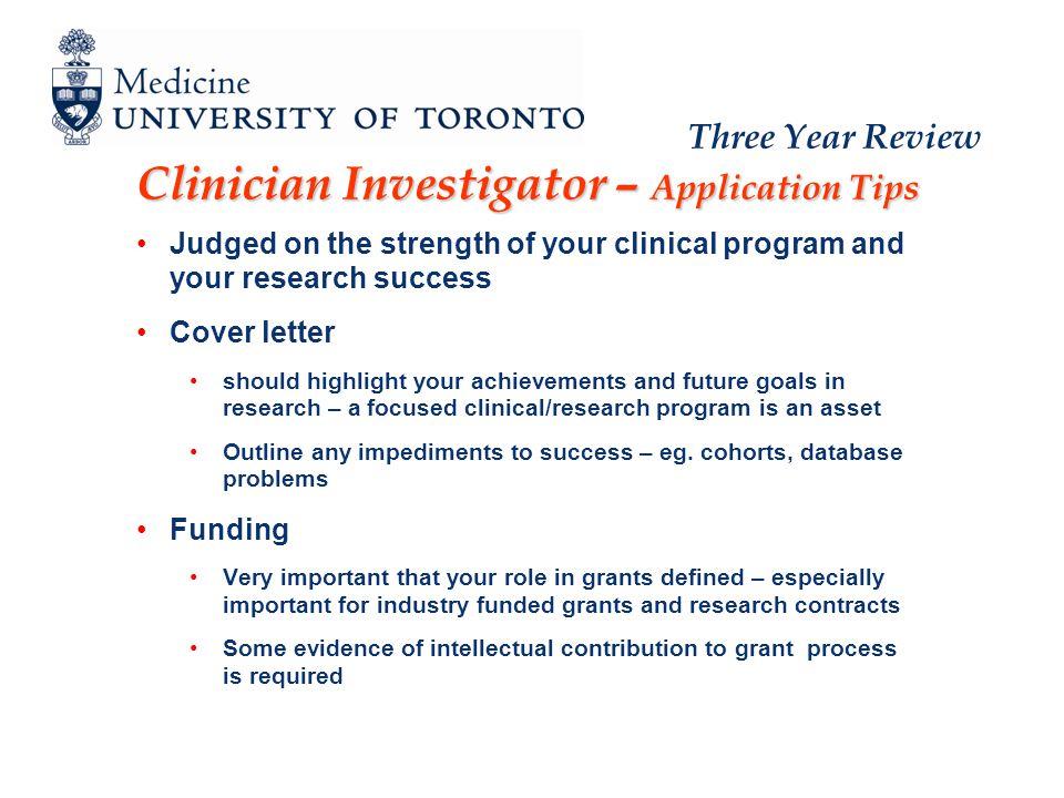 Department of Medicine Three Year Review Workshop Job Descriptions ...