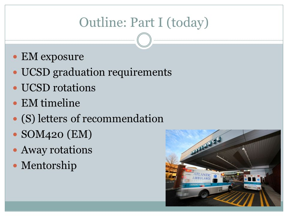 So, you're interested in Emergency Medicine? Considerations