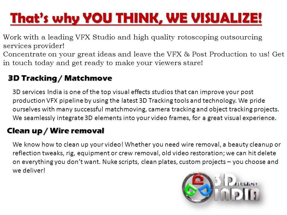 VFX Services - ppt download