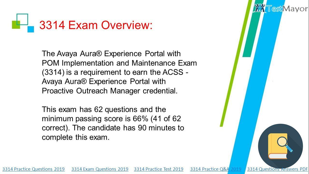 3314 Avaya Aura Experience Portal with POM Implementation